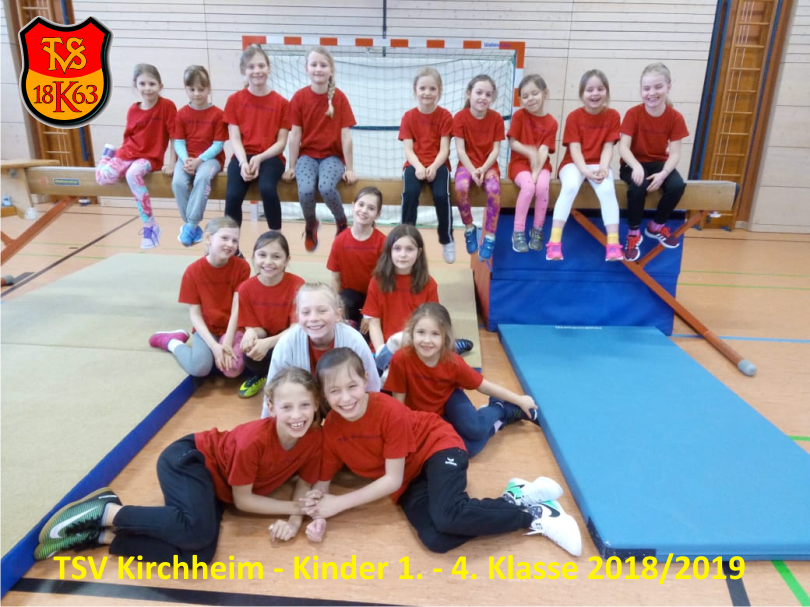 turnen kinder 1 4 klasse 2019